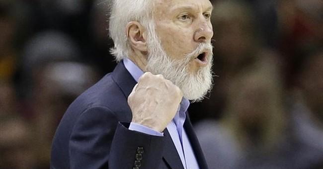 Spurs coach Popovich blasts President Trump
