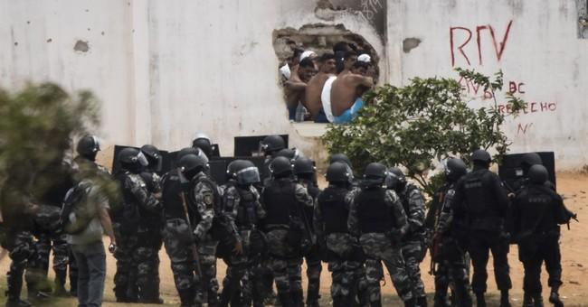 Police enter Brazil prison after gang clash; control tenuous