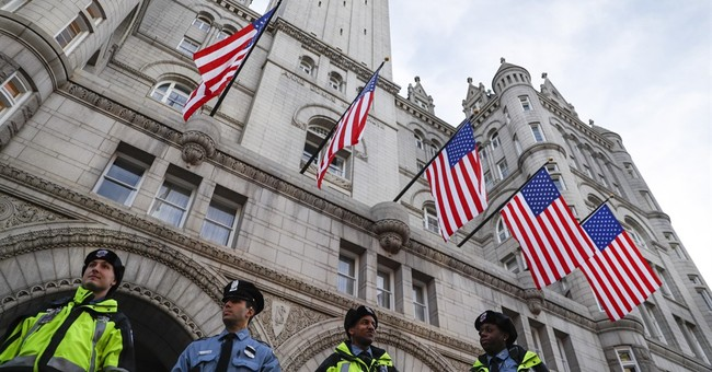 Trump hotel adds to ethics concern with inaugural festivity