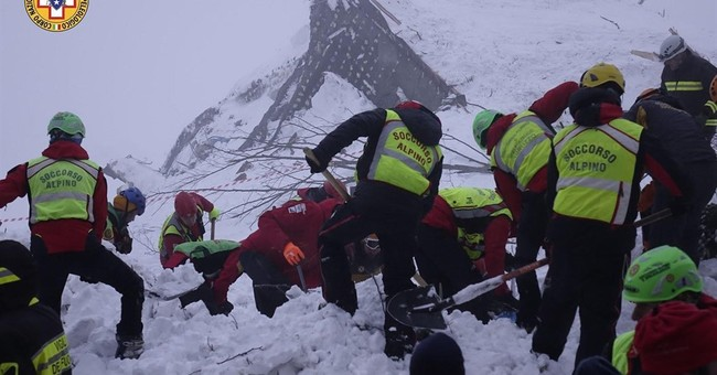 Search intensifies for 23 missing in Italian avalanche