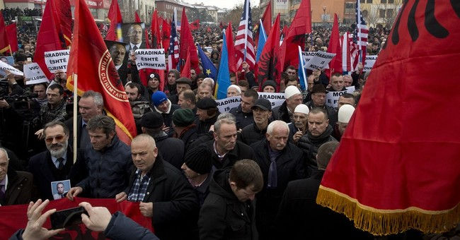 Kosovo Albanians call for ex-premier's release in France