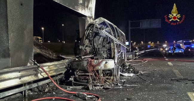 Budapest mourns as 16 die in fiery bus crash on Italian road