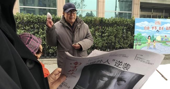 Correction: Trump-China story