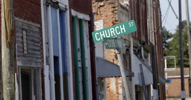 North Carolina town 'forgotten' as residents, jobs fall away