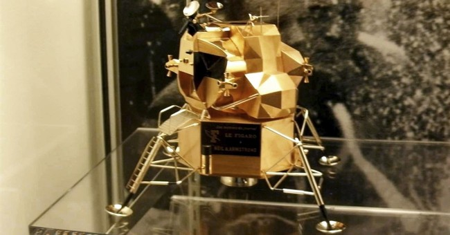 Rare replica of lunar module stolen from Neil Armstrong Air & Space Museum