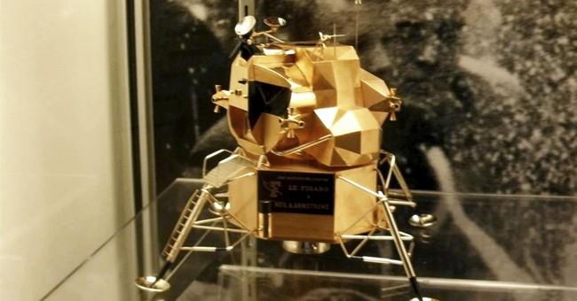 Rare replica of lunar module stolen from Neil Armstrong Air & Space Museum