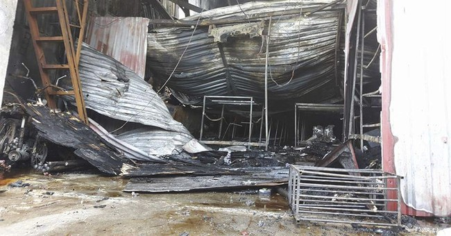 Fire at cake factory in Vietnam's capital kills 8 workers