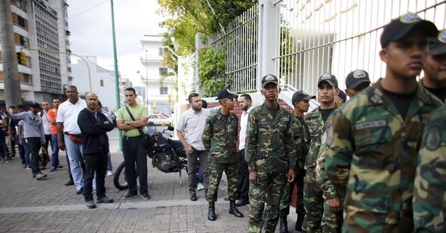 The Latest: EU concerned for future of Venezuelan democracy