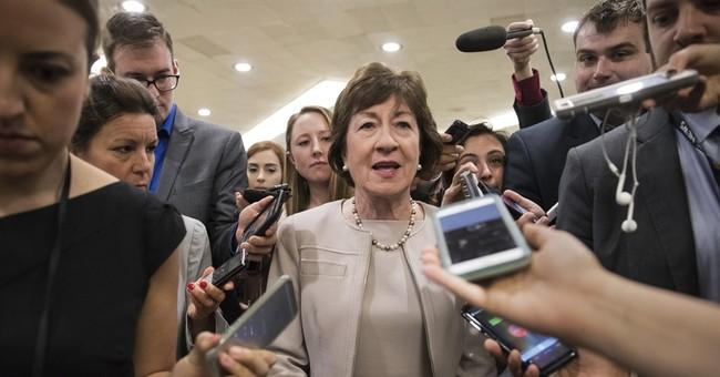 AP FACT CHECK: Trump's odd threat on Congress health care