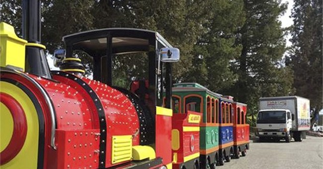 Police locate train, trailer stolen east of San Francisco