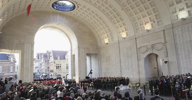 Royals, descendants mark centenary of futile WWI battle