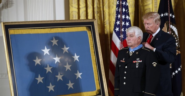 Trump awards Medal of Honor to Army medic 48 years later