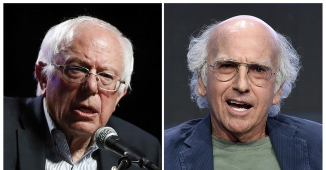 Bernie Sanders and Larry David share some 'identical DNA'