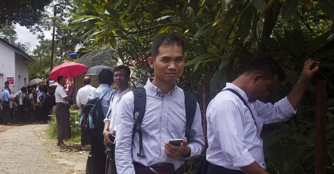 Myanmar police detain journalist ahead of defamation trial