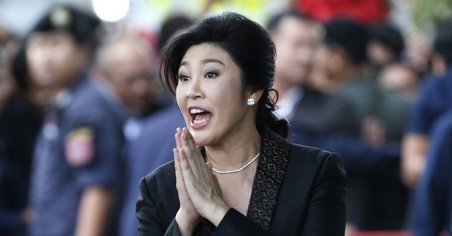 Former Thai PM says she's innocent, asks for 'kindness'
