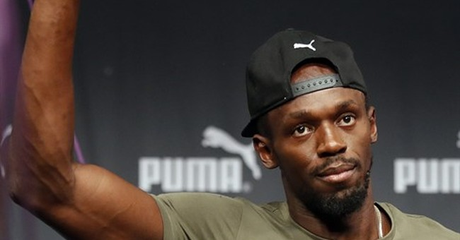 Bolt says no chance of loss or comeback in farewell worlds