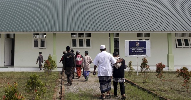 Islamic school seeks to steer sons of militants to new path