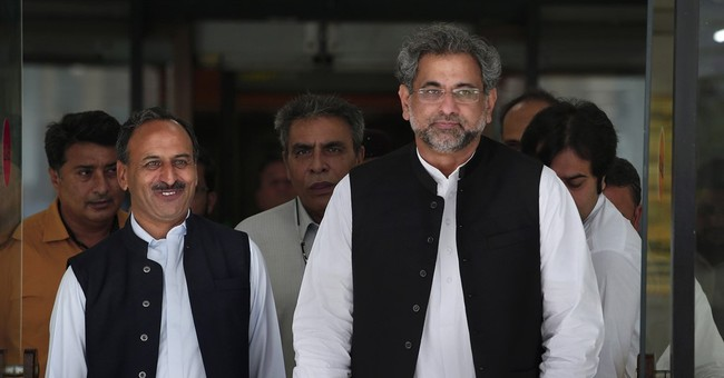 The Latest: Pakistan's new prime minister sworn