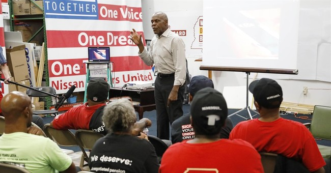 Top backers renew support for union at Nissan in Mississippi