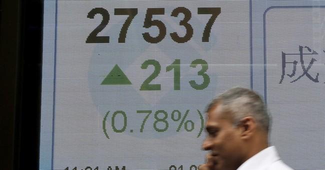 Stocks gain as investors assess economic data, earnings