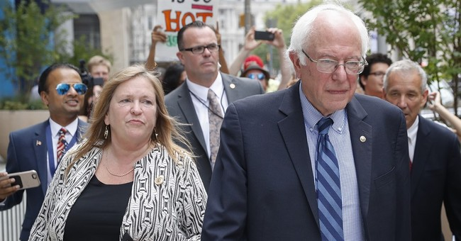 College considered selling land before Sander's wife left