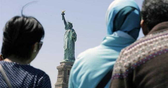 Trump aide dismisses Statue of Liberty 'huddled masses' poem