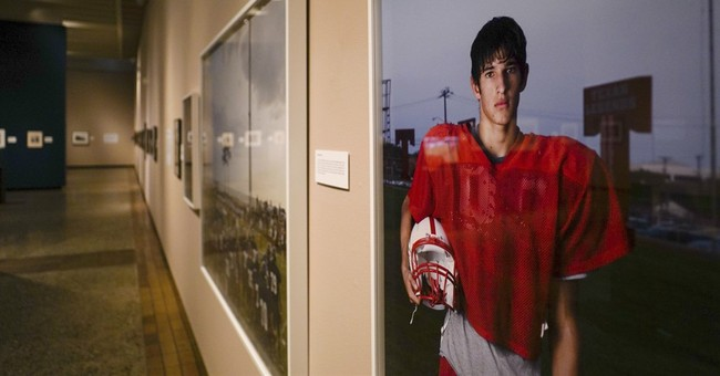 At birthplace of NFL, last stop for football art collection