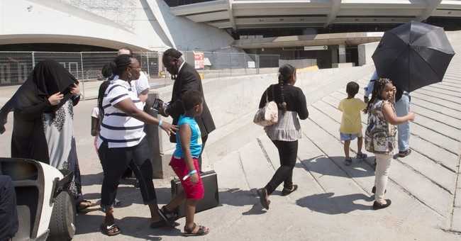 Canada asylum seekers housed at Montreal's Olympic Stadium