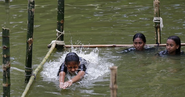 Swim class aims to stop major cause of death in Bangladesh