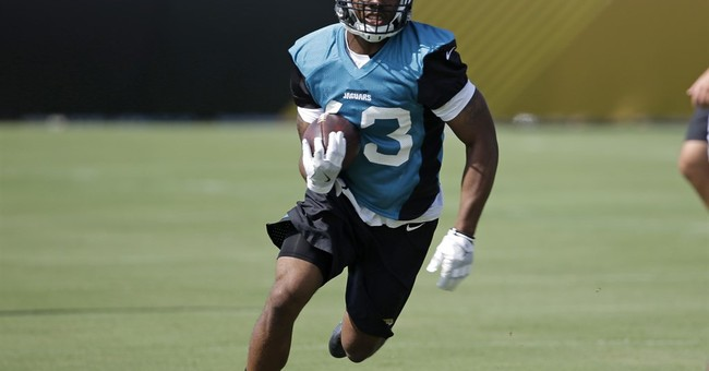Jags' Mathers to be released from hospital after neck injury