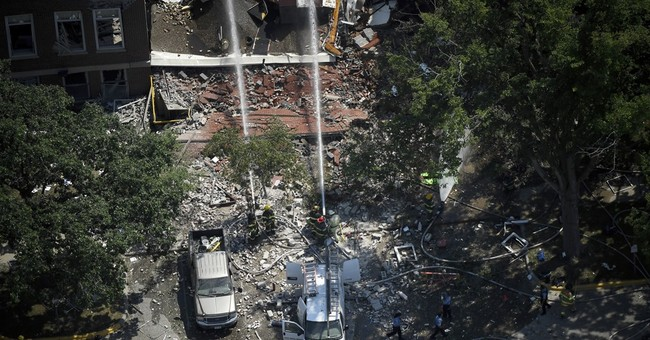 NTSB: Father-son team was moving gas meter at time of blast