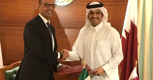 Qatar and Italy sign a nearly $6B deal for naval vessels