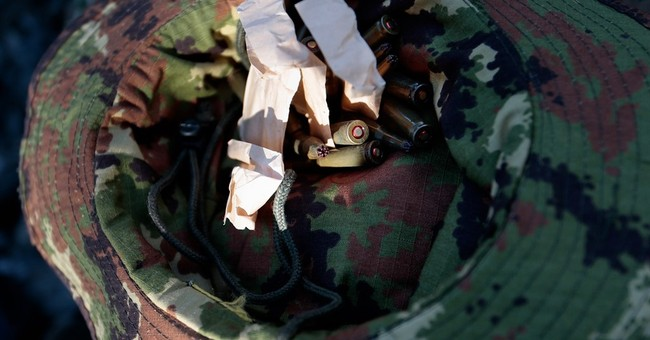 AP Photos: Russia, China, others take part in military games
