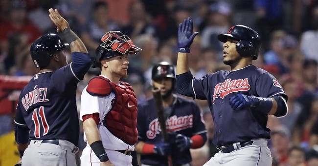 Vazquez's 3-run HR in 9th lifts Red Sox over Indians 12-10