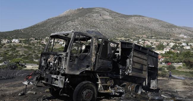 The Latest: Neighbors help Macedonia fight wildfires