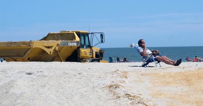 Judge orders halt to New Jersey sand dune project