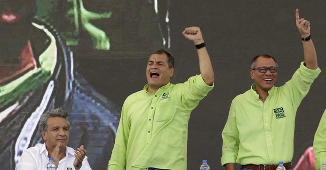 Ecuador's Correa lashes out at successor over budget cuts