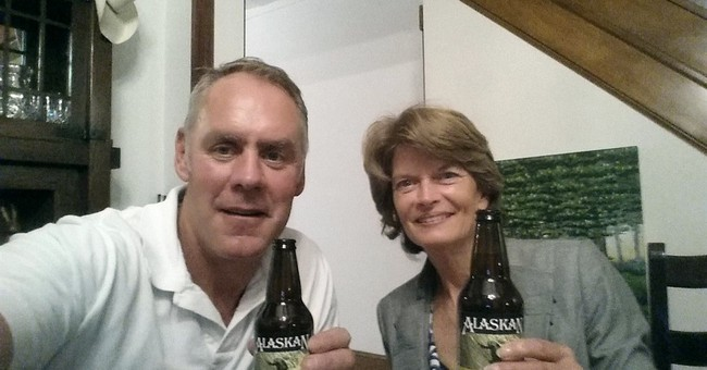 Interior chief says he and Alaska senator bond over beers
