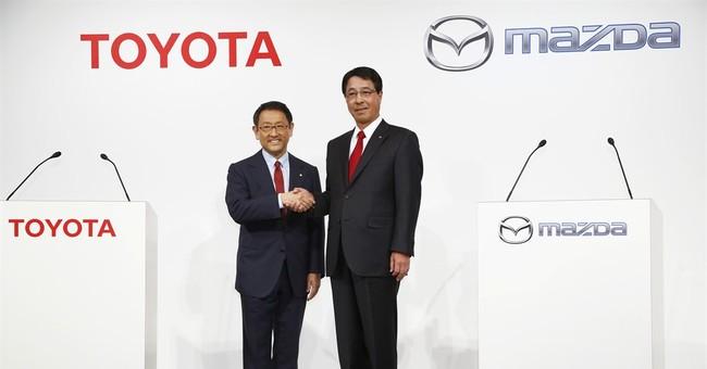 Source: Toyota, Mazda plan EV partnership, possible US plant