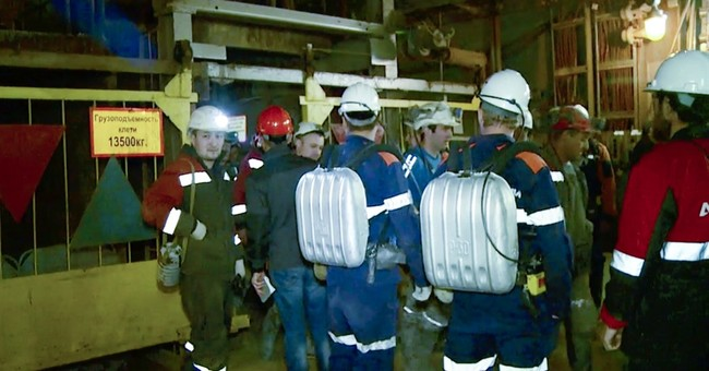 Flood in Russian diamond mine leaves 9 people missing