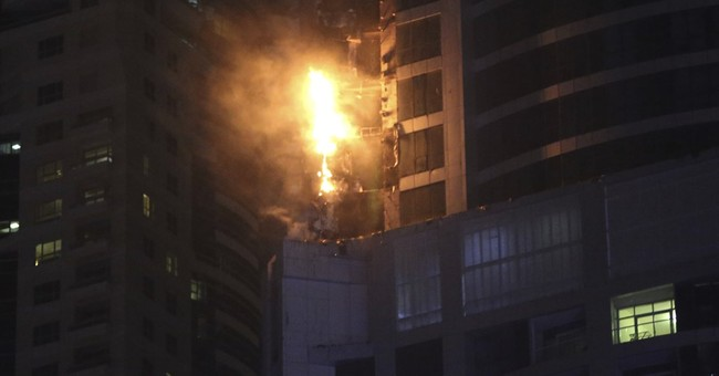 Fire put out at 87-story residential skyscraper in Dubai