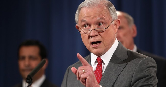 The Latest: Attorney general vows to slow government leaks