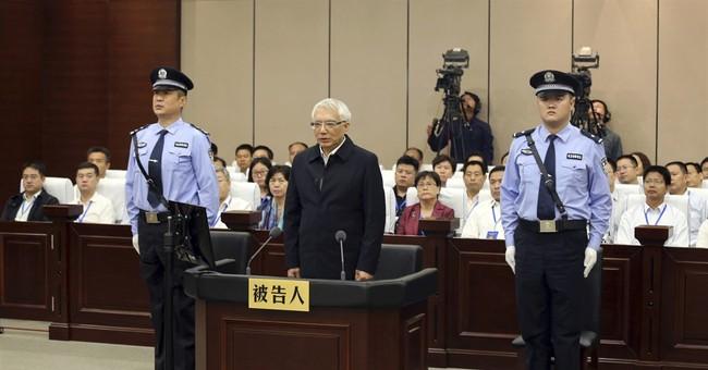 China sentences ex-provincial leader to life for corruption