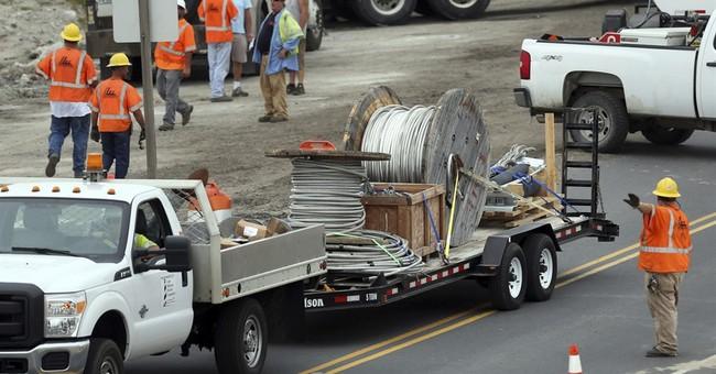 The Latest: North Carolina islands tally outage losses