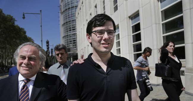 The Latest: Shkreli feels 'exonerated' despite conviction