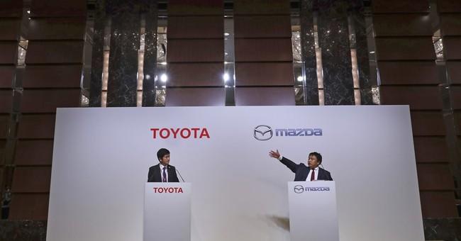 Toyota, Mazda plan $1.6 billion US plant, to partner in EVs