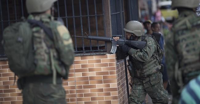 3,500 Brazilian soldiers enter Rio slums amid violence spike