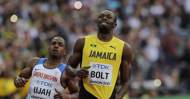 Bronze and gone: In a shocker, Bolt takes third at worlds