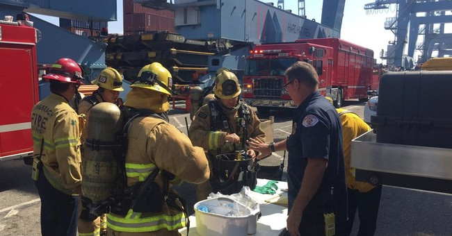 13 injured in hazardous materials leak at California dock