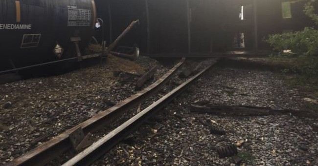 No injuries reported in South Carolina train derailment